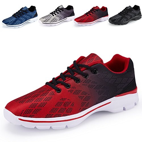 Leichtathletik Laufschuhe für Männer Laufschuhe für Herren rot