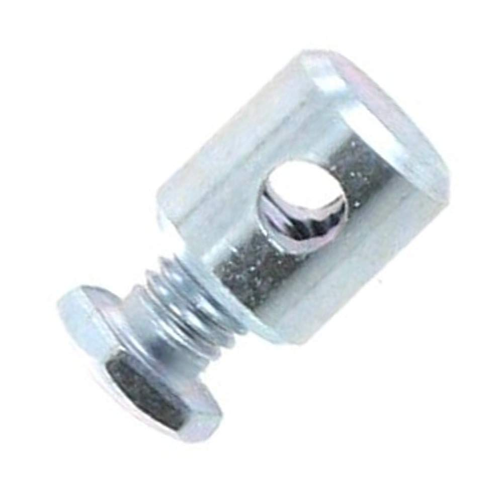 ADJUSTABLE CABLE BARREL CLAMP THROTTLE MAGURA DIAMETER 5mm LENGHT 7.5mm GUIDE HANGER END STOP MOPED ROLLER SCOOTER GAS ACCELERATOR