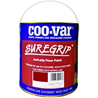 Sure Grip Anti Slip Floor Paint - Red - 2.5 Litre by Coo-Var
