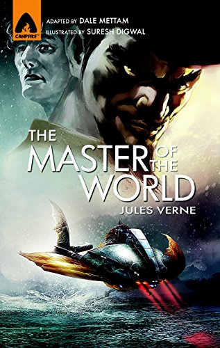 The Master of the World: The Graphic Novel (Campfire Graphic Novels)