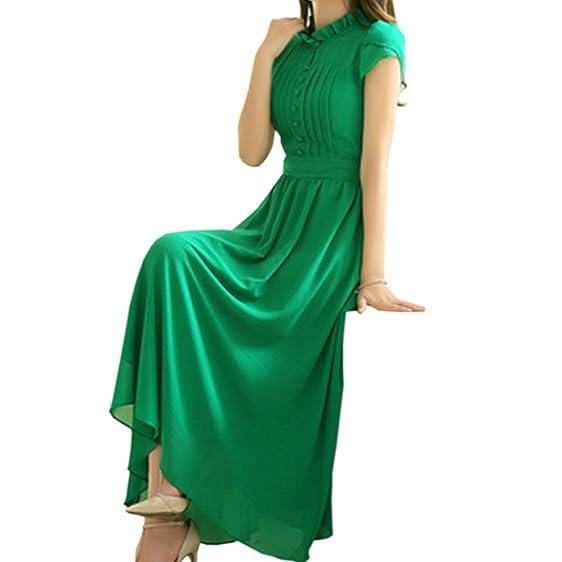 NEW Summer Style Robe Longue Femme Chiffon Dress Boho Robe Sexy Sandy Beach Long Vestidos Femininos