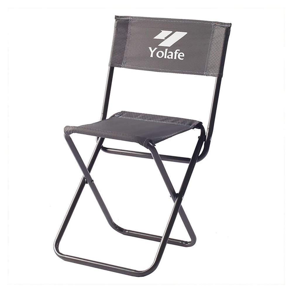 NIUZIMU Tabouret De Pêche en Plein Air Pliant Chaise De Pêche Chaise Chaise De Plage Portable Bureau Loisirs Multifonctionnel Chaise en Métal Matériel  -