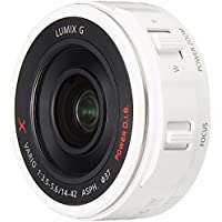 Panasonic digital camera option Micro Four Thirds System interchangeable lenses for X lens motorized zoom LUMIX GX VARIO PZ 14-42mm / F3.5-5.6 ASPH. / POWER OIS White H-PS14042-W