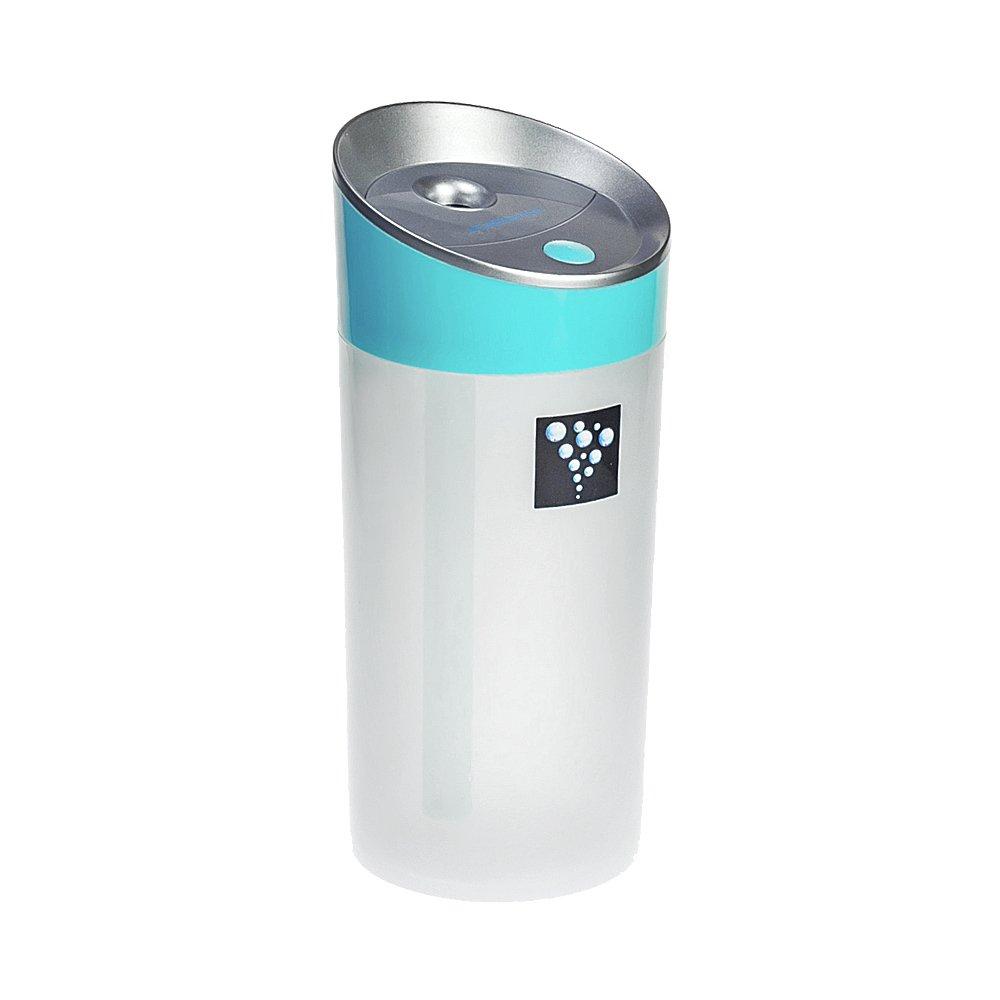 Air Humidifier Ainingshi 300ML USB Mist Ultrasonic Humidifier Mist Maker Portable Adjustable Mist Mode for Office Car Home Study Yoga Spa (Blue) by Ainingshi (Image #1)