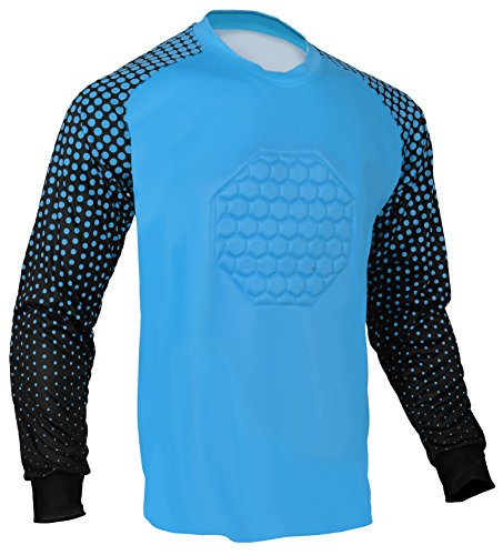 (Soccer Goalie Shirt (Columbia Blue, Adult Large))