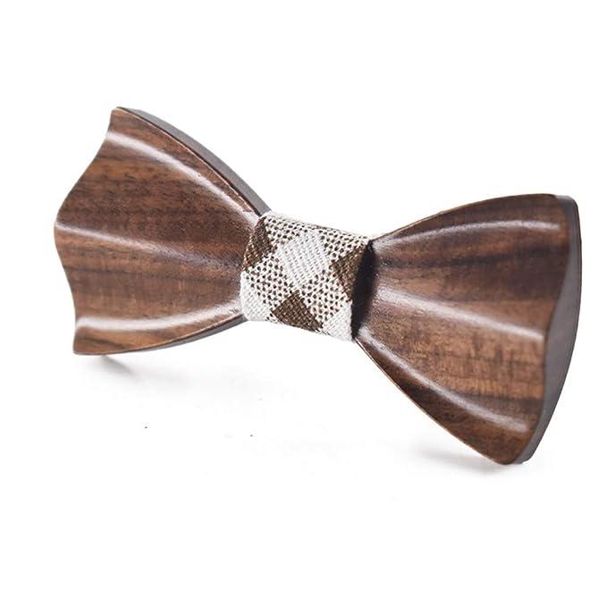 Corbata, Las mujeres de los hombres de madera de madera pajarita ...