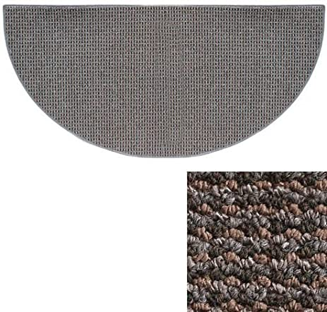 Goods Of The Woods 10736 Cozy Half Round Rug   Blue/Grey