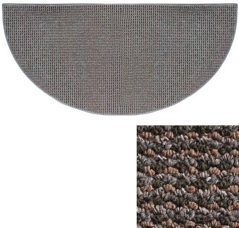 Goods of the Woods 10736 Cozy Half Round Rug - Blue/Grey