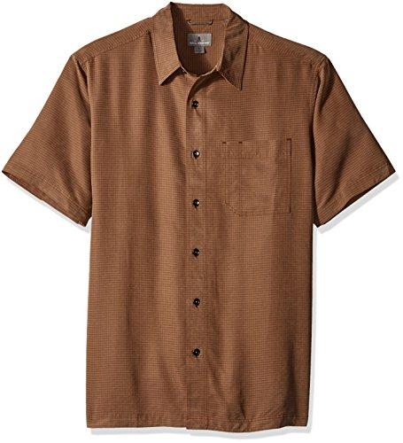 Royal Robbins Men's Desert Pucker Short Sleeve Shirt,DESERT PALM ,XX-Large