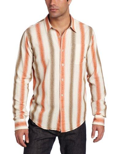 prAna Men's Raintree Long Sleeve Woven Shirt