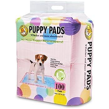 Best Pet Supplies Puppy/Training Pads, Pink, 100-Pack