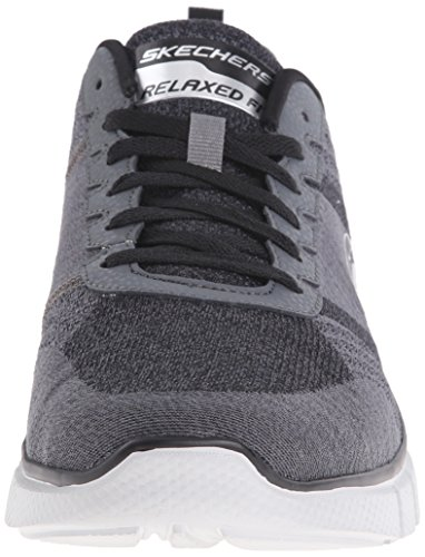 Skechers Sport Men's Equalizer 2.0 True Balance Sneaker,Grey/Black/Charcoal,11.5 4E US