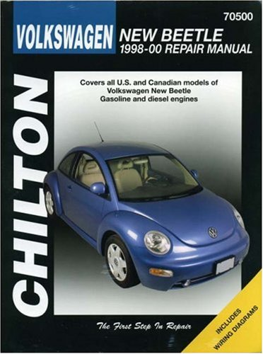Volkswagen New Beetle: 1998-2000 (Chilton's Total Car Care Repair Manual)