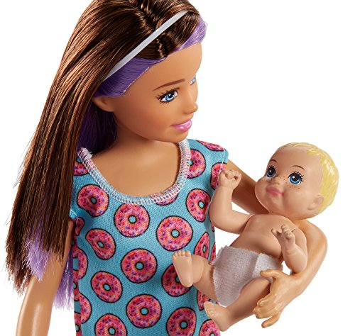 Barbie Skipper Babysitters Inc. Doll and Feeding Playset by Barbie (Image #5)
