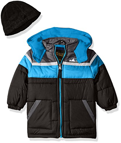 Colorblock Down Jacket - 5