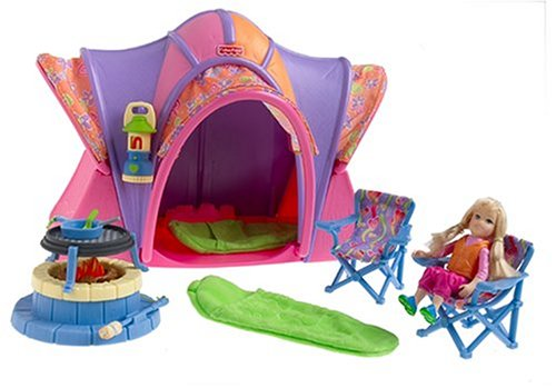 Fisher Loving Family Campsite Playset