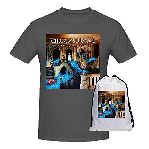 Circa Survive Violent Waves Shirts 100 Cotton Men Round Neck (Circa Camo)