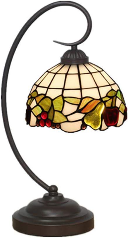 DLewiee Mini lámpara de Mesa, lámpara de Escritorio roja Antigua ...
