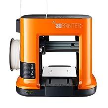 XYZprinting da Vinci mini 3D Printer - 5.9'' x 5.9'' x 5.9'' Build Volume (Includes Non-toxic PLA Filament, Printer Enclosure, Print Bed Tape, Cables & Power Adapter, Cleaning & Maintenance Tools)