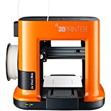 "da Vinci mini Wireless 3D Printer-6""x6""x6"" Built Volume (Includes: $14 300g PLA Filament, $49 STEAM 3D Design Tutorial eGift Card – Must Register Product, $10 Maintenance Tools, XYZmaker CAD Software)"