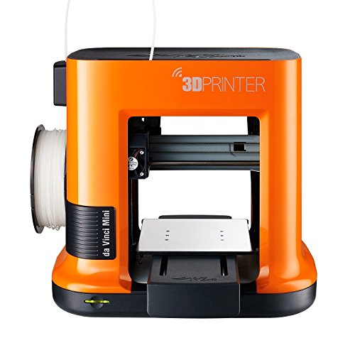 da Vinci mini Wireless 3D Printer-6'x6'x6' Built Volume (Includes: $14 300g PLA Filament, $49 STEAM 3D Design Tutorial eGift Card – Must Register Product, $10 Maintenance Tools, XYZmaker CAD Software)