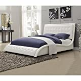 Coaster Furniture Tully Upholstered Low Profile Panel Bed - 300372Q