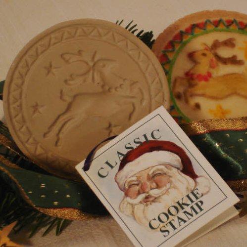 Brown bag reindeer cookie stamp christmas series