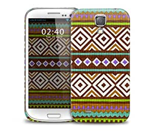 Vintage Mosaic Pattern Samsung Galaxy S4 GS4 protective phone case