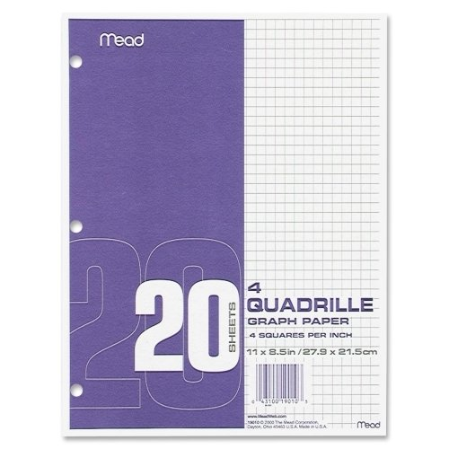 MEA19010 - Mead Quadrille Graph Paper