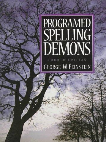 Programed Spelling Demons (4th Edition)