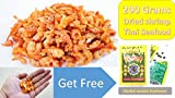 Thai Sea food Banana shrimp Dried shrimp Seafood grade A for Cooking & Snack umami taste For Thai food menu 200 g.