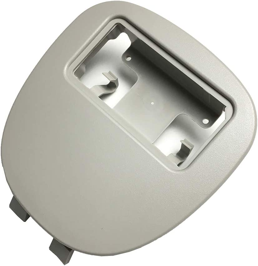 Couverture de lampe de d/ôme int/érieur de panneau de commande de lampe de lecture de voiture pour 206 207 Lumi/ère Citroen C2 gris 1Pc