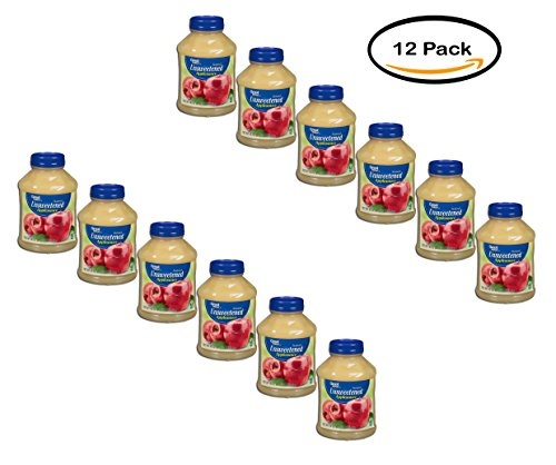 PACK OF 12 - Great Value Natural Unsweetened Applesauce 46 oz. Jar by Great Value