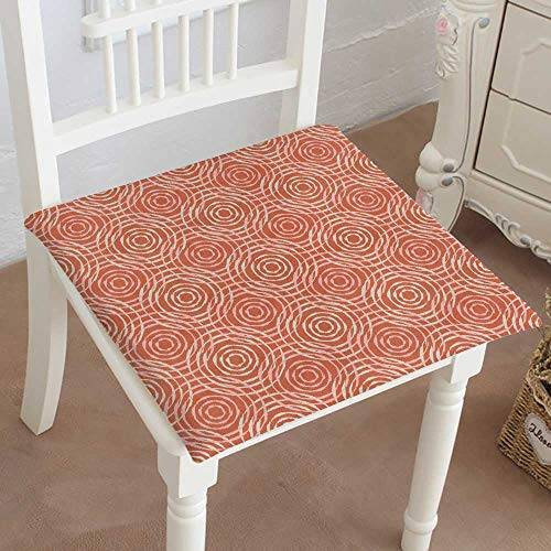 Mikihome Squared Seat Cushion Ethnic Boho Print Repeat Background Cloth Design Wallpaper Garden Patio Home Kitchen Office Sofa Seat Pad 30