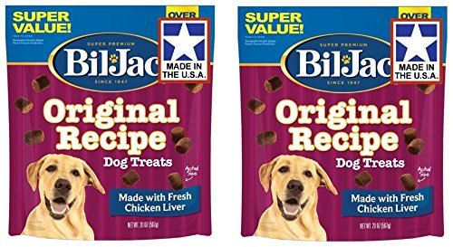Jack Treat - Bil-Jac Liver Dog Treats 2 Pack of 20 Ounce