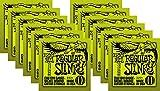 Ernie Ball 2221 Nickel Slinky Lime Guitar Strings - Buy 10, Get 2 Free