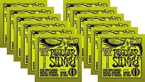 ernie ball 2221 nickel slinky lime guitar strings buy 10 get 2 free musical. Black Bedroom Furniture Sets. Home Design Ideas