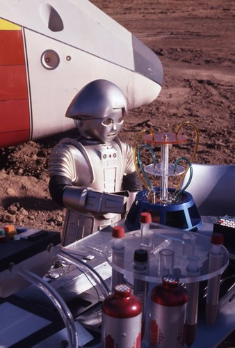 Buck Rogers in the 25th Century 35mm film slide Twiki and also 8x10 photo