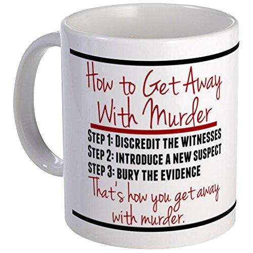 CafePress - How To Get Away With Murder Mug Mugs - Unique Coffee Mug, Coffee Cup
