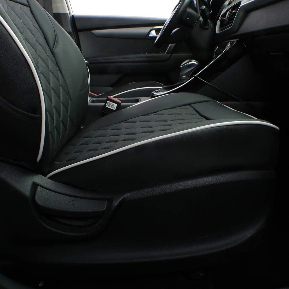 CAR SEAT COVERS full set fit KIA SPORTAGE Eco-leather Black//Grey
