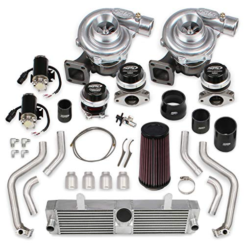 STS Turbo STS2006 STS Turbo Remote Mount Twin Turbo System without tuner & fuel injectors (Standard Kit)