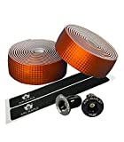 Ancmaple Bike Handlebar Tape Grip Wrap Tape with Metal End Plugs Bar(Bronze) Review