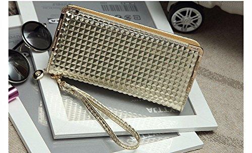 JD Million shop 2017 Fashion Wallet Women Blingbling Wallets Female Ladies Long Wallet Zipper Women Clutch Change Purse