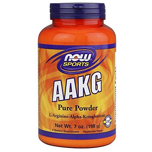 Now Sports Nutrition, AAKG (Arginine Alpha-Ketoglutarate) Pure Powder, 7-Ounce