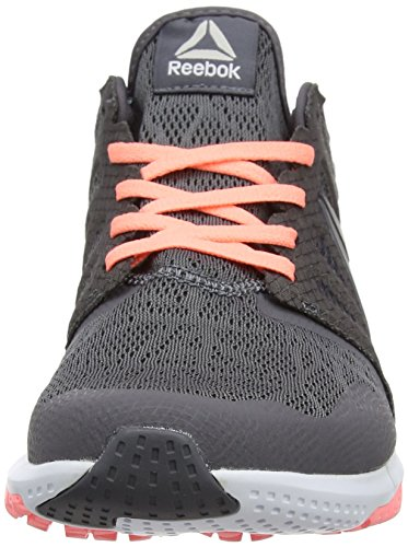 Zprint 3D, Zapatillas de Running para Mujer, Gris (Ash Grey/Sour Melon/White/Pewter), 36 EU Reebok