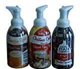 Jordans Skinny Gourmet Syrups Barista Style Whipped Foam Topping 16 fl oz - Christmas Cookie, Pumpkin Spice, Chocolate Peppermint - Happy Holidays Trio