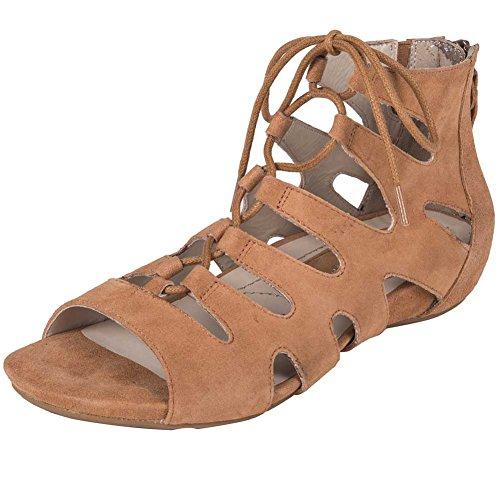 Earthies Donna Roma Ambra Sandalo Gladiatore - 10