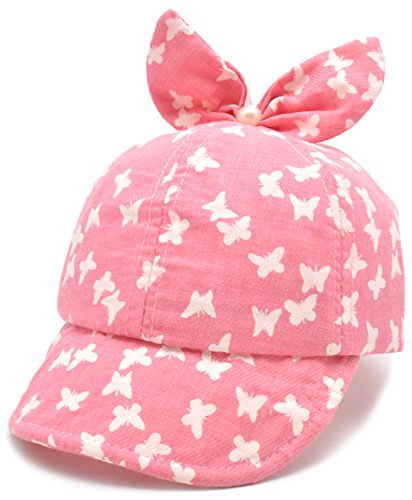 EASTER BARTHE Toddler Infant Newborn Baby Girl Cute Lovely Cotton Soft Brim Flanging Sun Hat Adjustable Baseball Cap,2 color