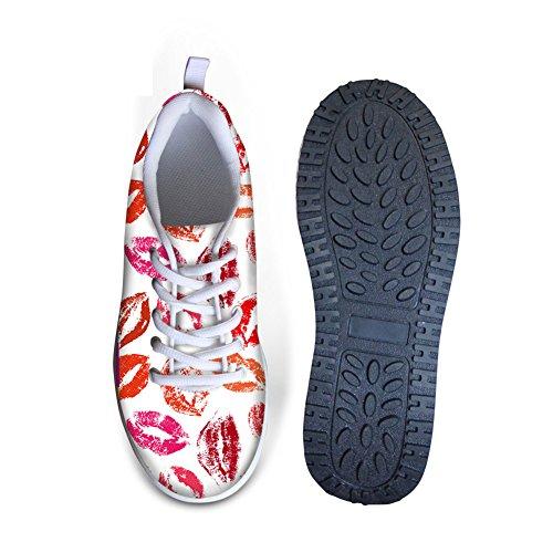ThiKin ウォーキングシューズ ランニングシューズ レディース 3Dプリント 軽量 通気 女性 スニーカー ジョギング スタイリッシュ 快適 おしゃれ ファッション 日常着用 通勤 通学 スポーツシューズ プレゼント