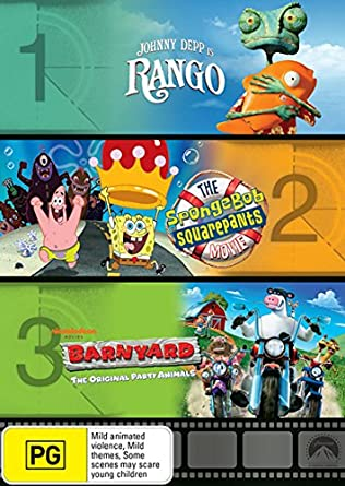 Rango Spongebob The Movie Barnyard
